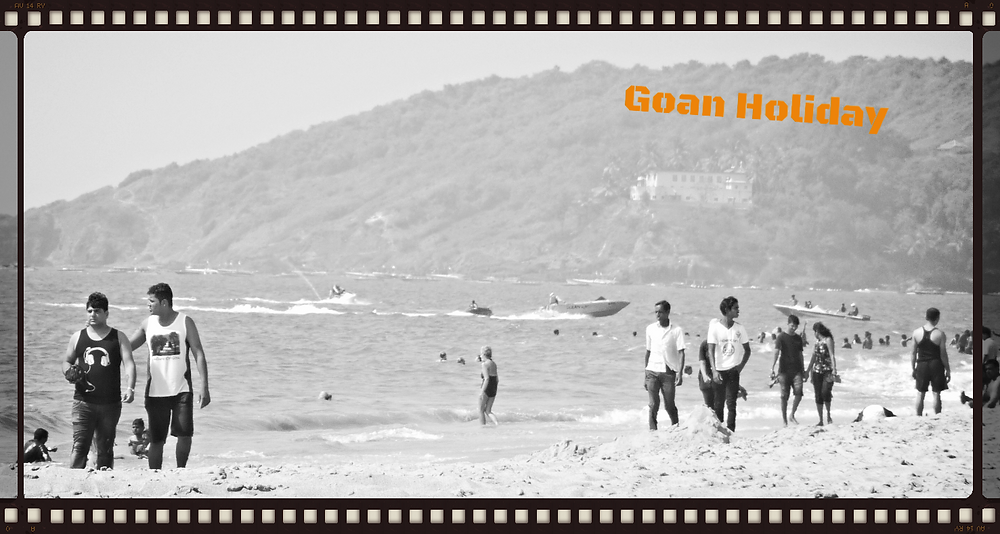 Goa Indian tourists