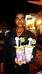 Juice stand in Mumbai