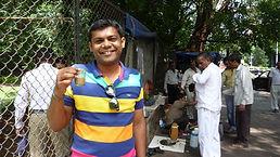 Street chai vendor