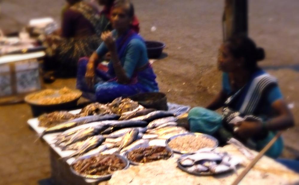 Fish vendors