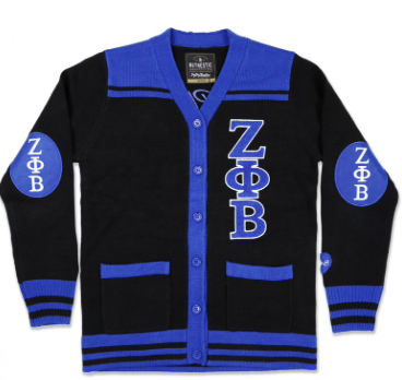Zeta Phi Beta Button Down Sweater