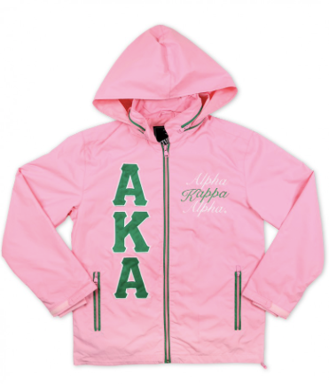 Alpha Kappa Alpha Windbreaker Jacket
