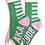 Thumbnail: Alpha Kappa Alpha Socks