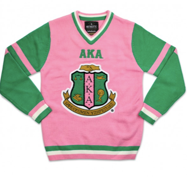 Alpha Kappa Alpha V-Neck Sweater