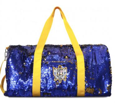 Sigma Gamma Rho Sequin Duffle Bag