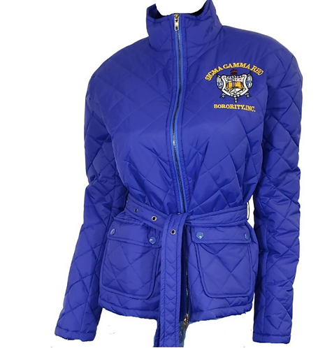 Sigma Gamma Rho Quilted Jacket