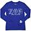 Thumbnail: Zeta Phi Beta Long Sequin Sleeve Tee