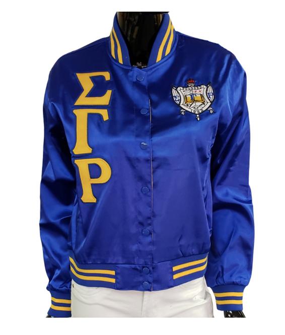 Sigma Gamma Rho Satin Jacket