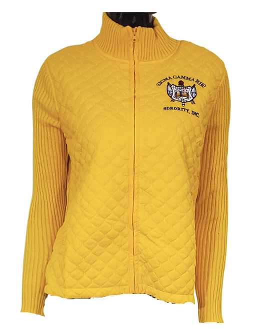 Sigma Gamma Sweater Jacket