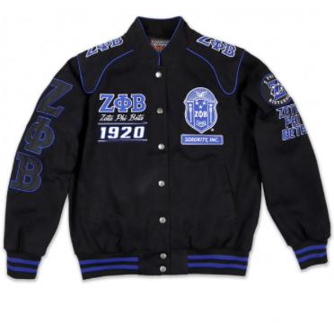Zeta Phi Beta Racing Jacket