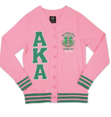 Alpha Kappa Alpha Light Weight Cardigan