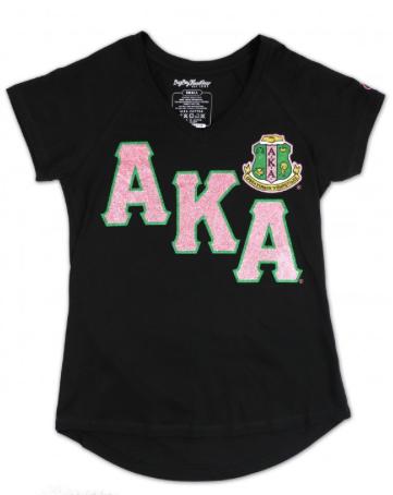 Alpha Kappa Alpha V-Neck Tee