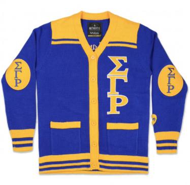 Sigma Gamma Rho Button Down Sweater
