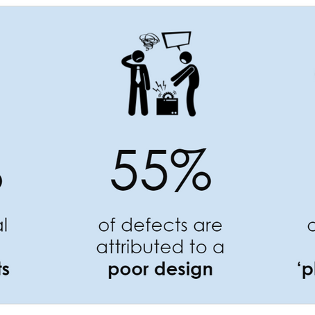 55% of Building Defects Attributed to Poor Design - are you at Risk?