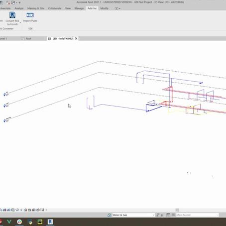H2X's Revit / AutoCAD Integration