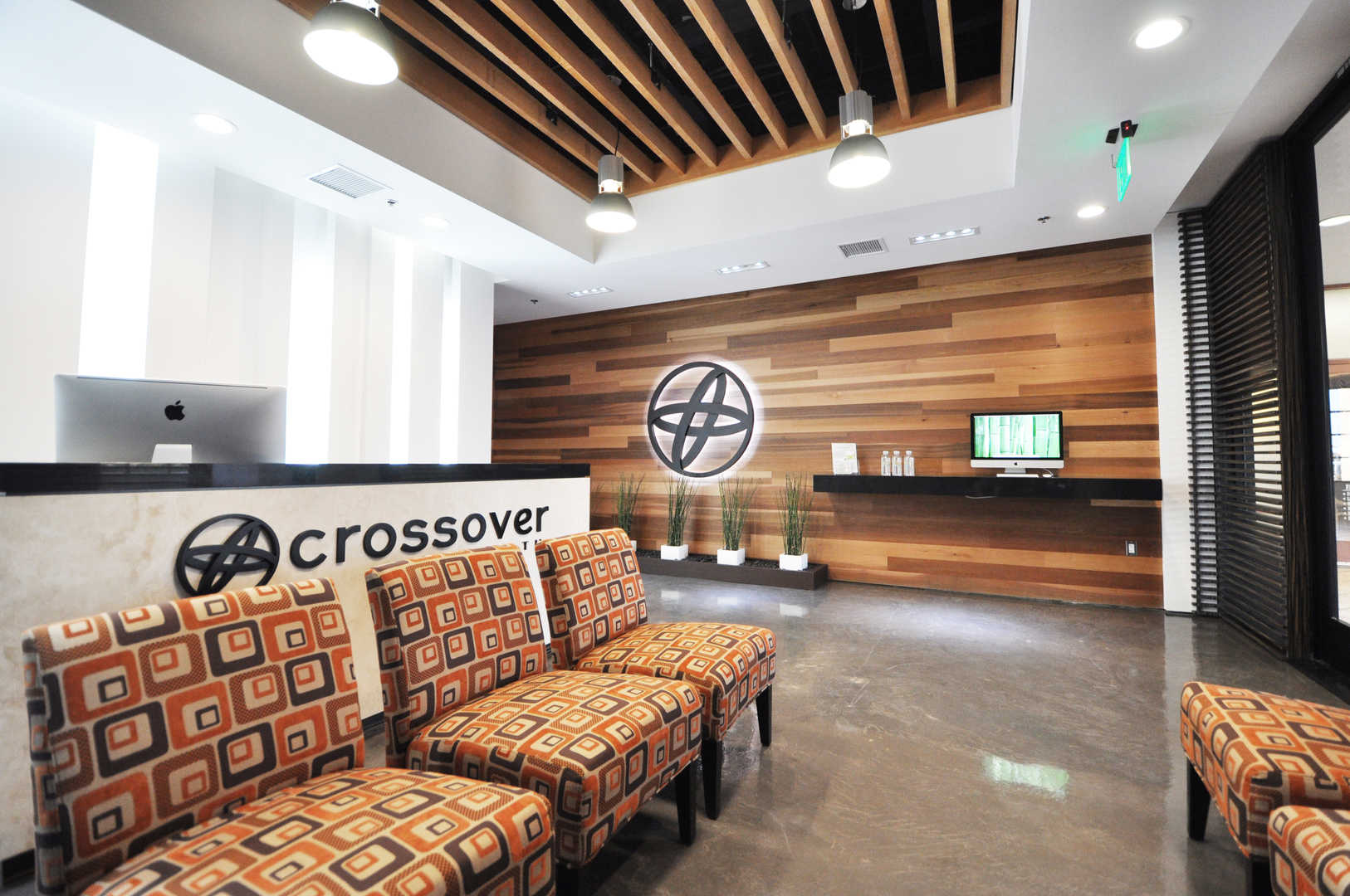 Crossover Office Lobby