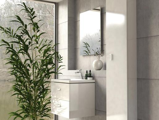 Білі меблі для ванної кімнати - тренд 2021-го року