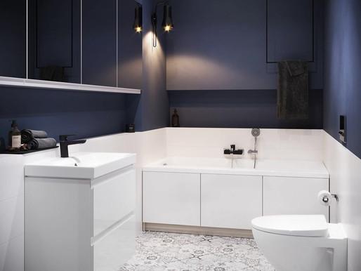 Маленька ванна кімната – як облаштувати її в 2021 році? Перегляньте перелік функціональних рішень