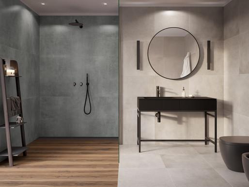 Керамогранітна плитка у ванній – чому її варто вибрати
