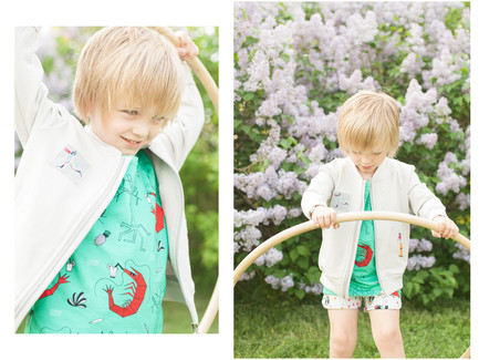 Fallowfield Kids Spring Lilac Photoshoot
