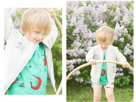 Fallowfield Kids Spring Lilac Photoshoot