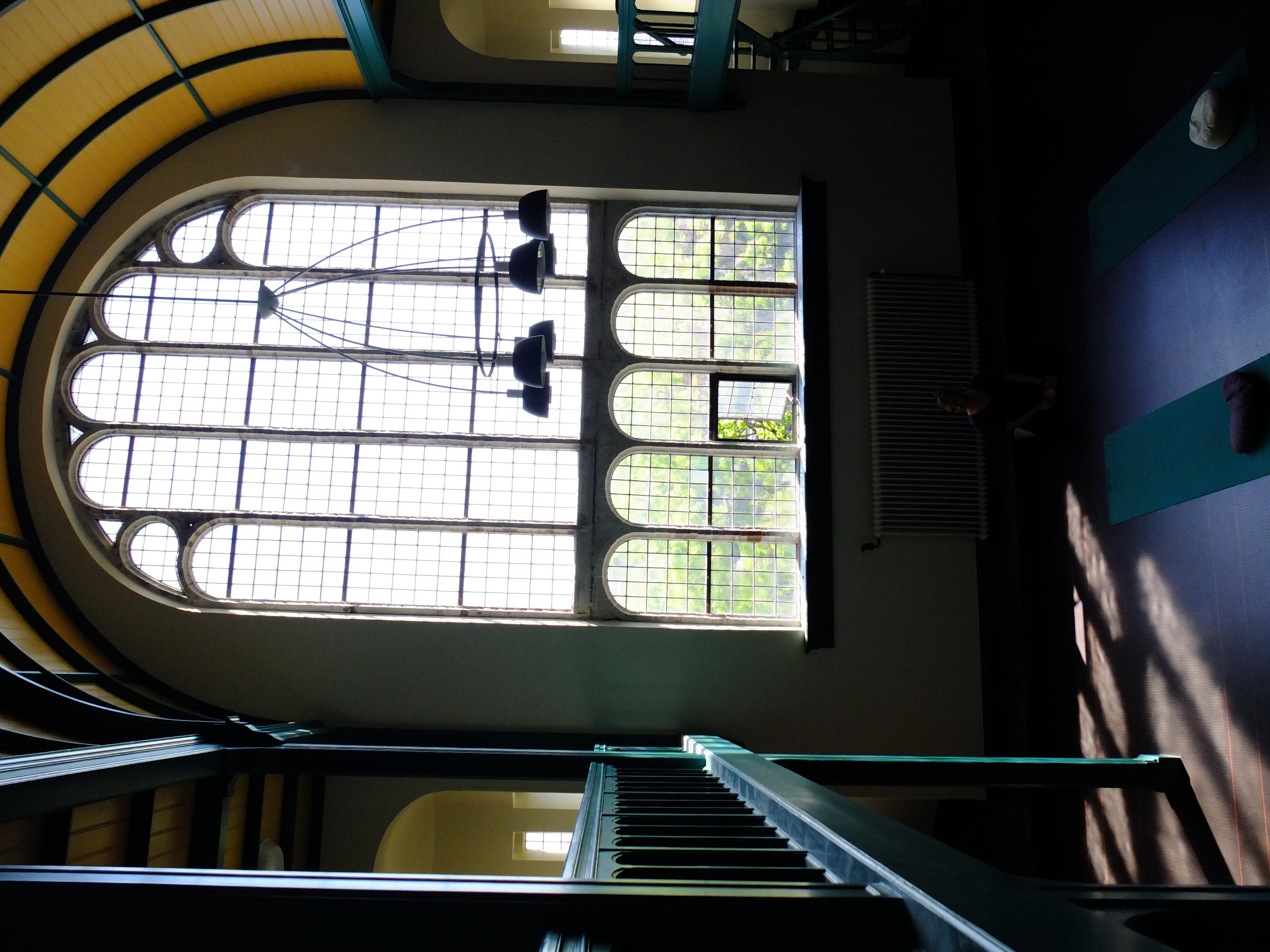 Sacred Trees Studio window light free peace