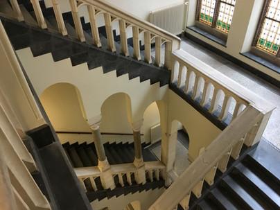 Sacred Trees Studio Staircase Raamsteeg