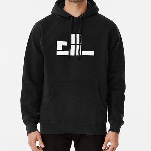 """dl logo"" Pullover Hoodie"