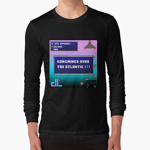 """KONGMINGS OVER THE ATLANTIC!!!"" Long sleeve T-Shirt"