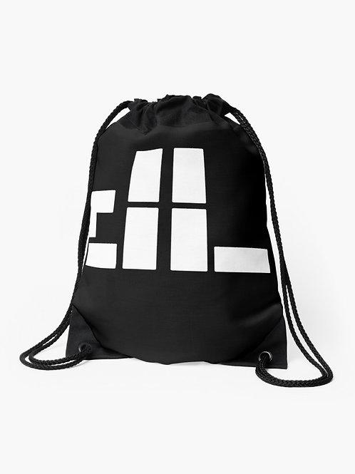 """dl logo""  Drawstring Bag"
