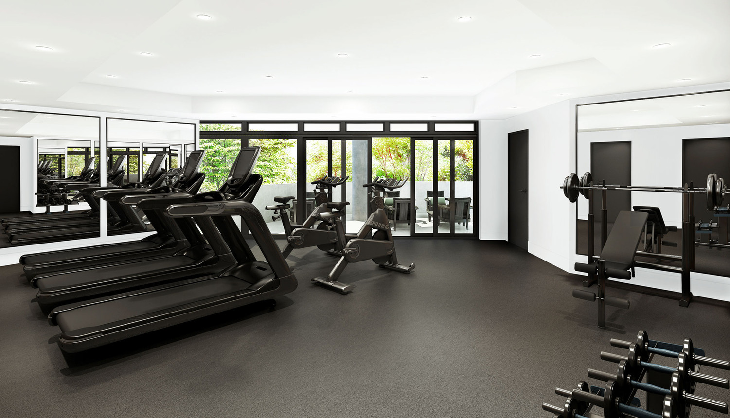 Amenities | Health & Fitness Wing