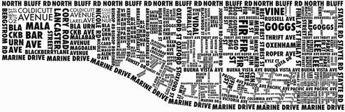 Verve Map Black & White