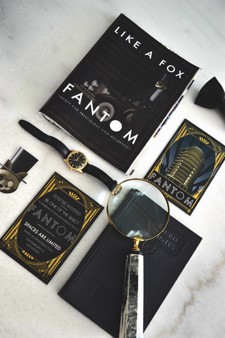 Fantom Teaser Ad & Direct Mail