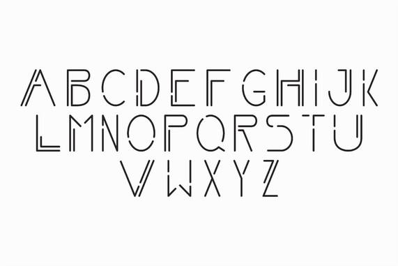 Verve Alphabet