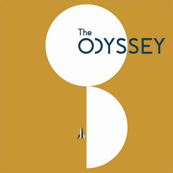 Odyssey Poster Gold