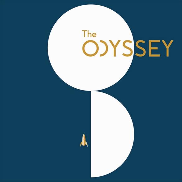 Odyssey Poster Blue