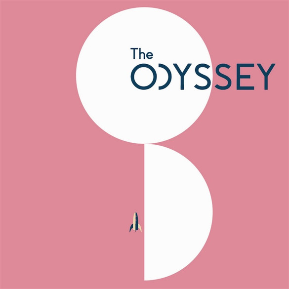 Odyssey Poster Pink