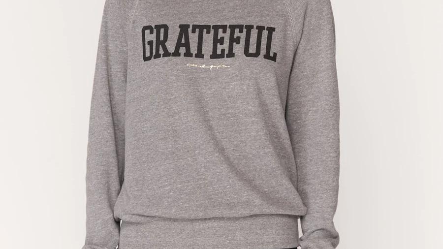 Spiritual Gangster Grateful Old School Sweatshirt