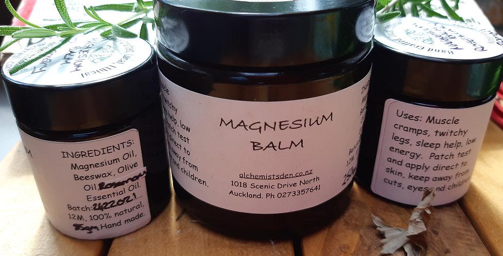 Magnesium Balms Rosemary