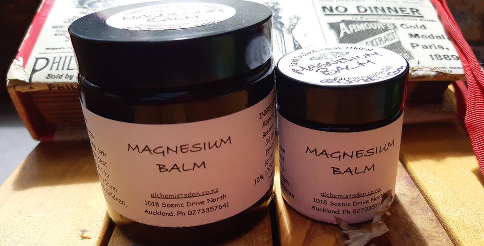 Magnesium Balms Lavender