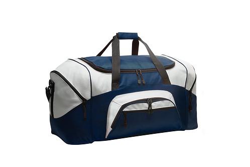 Team 5: Duffle Bag - Navy/Grey
