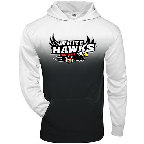 WhiteHawks - Adult Ombre Hoodie