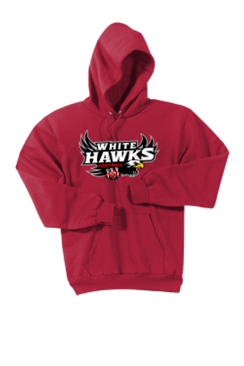 White Hawks: Adult Hooded Sweatshirt