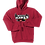 Thumbnail: White Hawks: Adult Hooded Sweatshirt