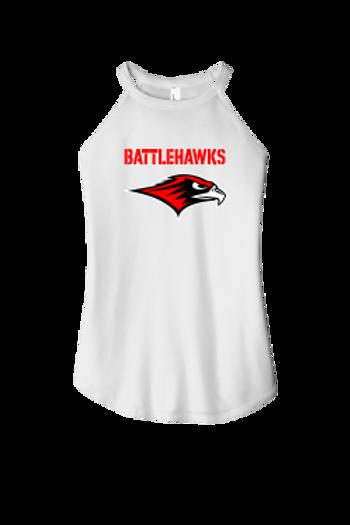 BattleHawks Ladies Rocker Tank