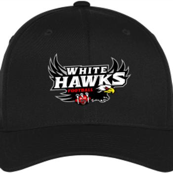 White Hawks: Flex Fit Hat