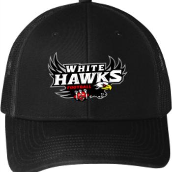 White Hawks: Snapback Trucker Hat