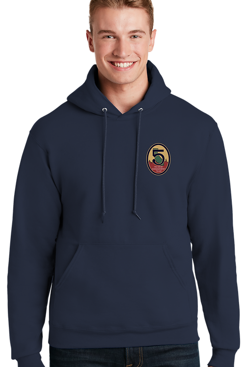 Team 5: 49997M Hooded Sweatshirt Jerzees