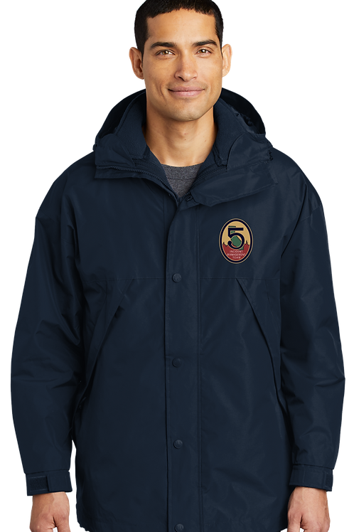 Team 5: J777 Port Authority 3 in 1 Jacket / Shell with Zip Out Vest