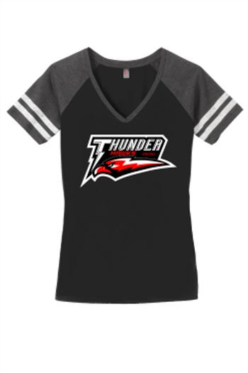 ThunderHawks - Ladies VNeck Game Day TShirt